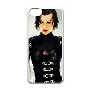 Resident Evil iPhone 5c Phone Case White as a gift H6979907