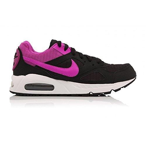 Nike Wmns Air Max Ivo, Zapatillas de Deporte para Mujer Negro (Black / Hyper Violet-White)