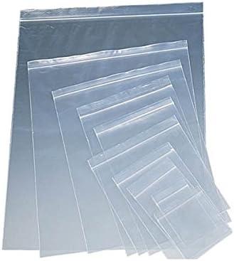 Peque/ñas bolsas de pl/ástico transparente resellables 1000 bolsas de sellado de agarre Embalaje de polietileno para almacenamiento de alimentos Sabco reutilizables con cierre fuerte
