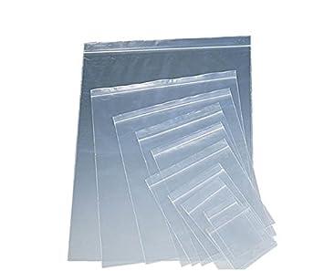 100 bolsas de plástico con cierre hermético reutilizables y ...