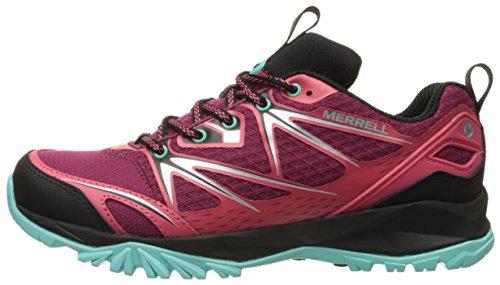 Bolt Capra Mujer Bright Merrell Red De Senderismo Zapatillas 5Od15XwxqS