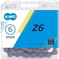 KMC Unisex's Z6 Ketting, Grijs,