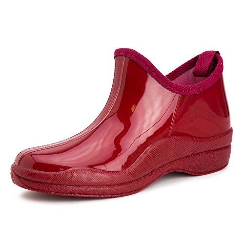 Shoes Yard Rain Boots Red Adults Womens Basic Generation19 Outdoor XFCxw
