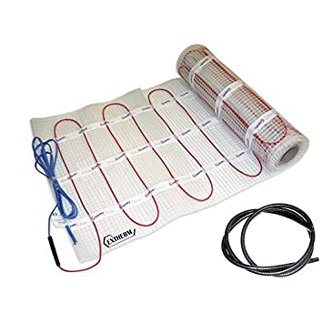 Solution d/énergie renouvelable 100 W Extherm TWIN Tapis chauffant pour chauffage au sol /électrique Chauffage confortable dans toutes vos pi/èces Installation
