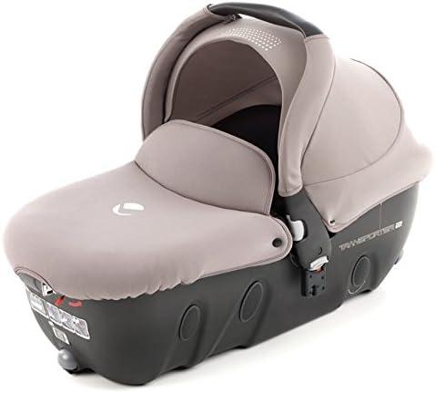 Capazo con Respaldo reclinable Jane Transporter R64 Cream: Amazon ...