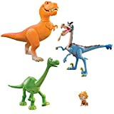 Disney The Good Dinosaur Ramsey vs The Rustler Exclusive Action Figure 4-Pack