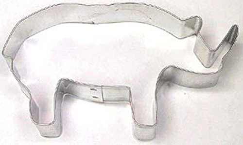 rhinoceros cookie cutter - 9
