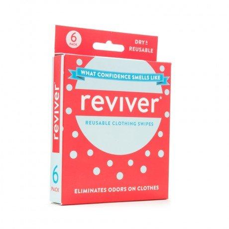 12-PACK: Reviver Dry Deodorant Fresh Wipes