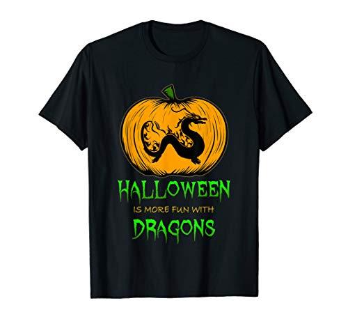 Asian Dragon Pumpkin Carving Halloween for Men Women Kids T-Shirt