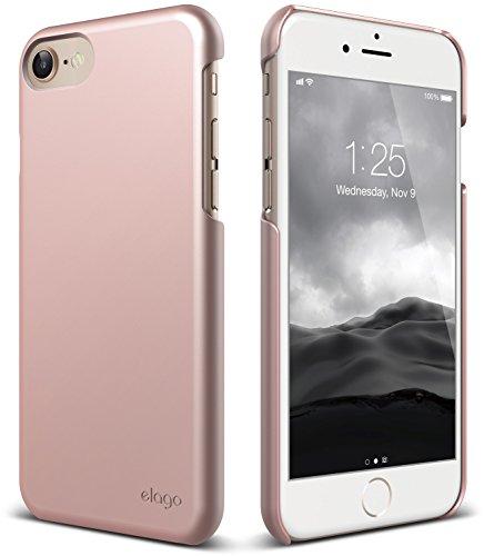 (elago iPhone 8 / iPhone 7 case [Slim Fit 2][Rose Gold] - [Light][Minimalistic][True Fit])