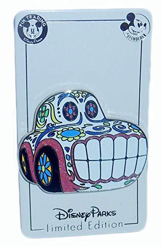 2018 Cars Sugar Skull Dia de los Muertos Annual Passholder AP Exclusive Pin California Adventure Limited Edition