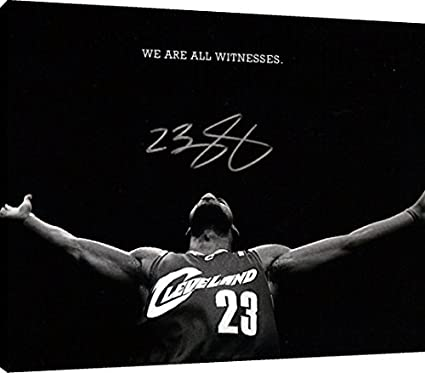 284c6fe847a Image Unavailable. Image not available for. Color  Canvas Wall Art  LeBron  James  quot We Are All ...