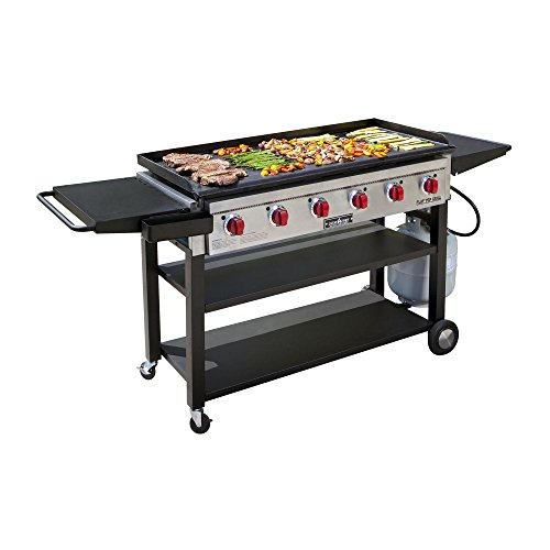 Camp Chef Flat Top Grill 900 Outdoor Griddle FTG900 (Large Camp Grill)