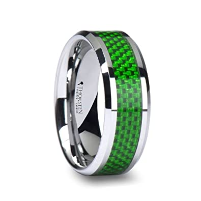 Green wedding bands