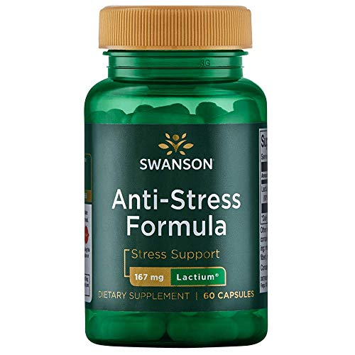 Swanson Womens Anti-Stress Formula (Lactium) 167 Milligrams 60 Capsules