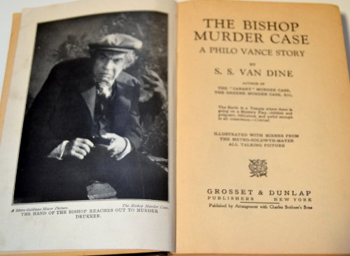 5 Volume Set Murder Case - 1st Editions: The Canary Murder Case, The Greene Murder Case, The Bishop Murder Case, The Benson Murder Case & The Garden Murder Case (Murder Case)