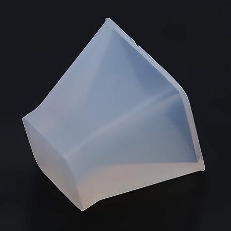 Pyramidenform Silikonform Harz Epoxidharz Gießform Kristallform