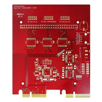 Double-sided Multilayer PCB with Gold Finger and OSP PCB Universal Printed Circuit Board Universal Electrical Circuit Board