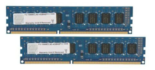 Price comparison product image G.SKILL NS 4GB (2 x 2GB) 240-Pin SDRAM DDR3 1333 (PC3 10666) Desktop Memory F3-10666CL9D-4GBNS