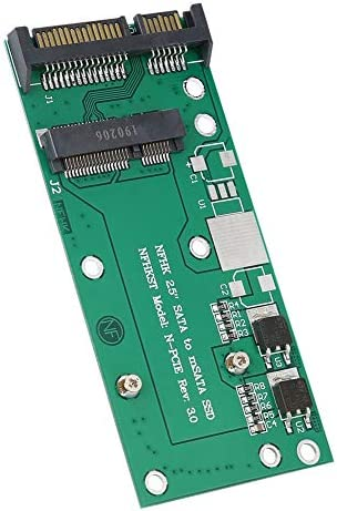 Zopsc Riser Adapter Board MSATA to 2.5inch Serial Port Mini PCI-E SSD to 2.5inch SATA Adapter LDO Control Chip Converter Riser Card