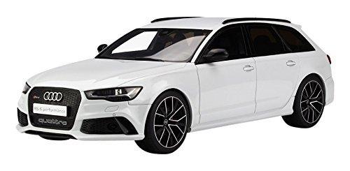 Kyosho GT Spirit 1/18 Audi RS6 Avant performance C7 White finished product