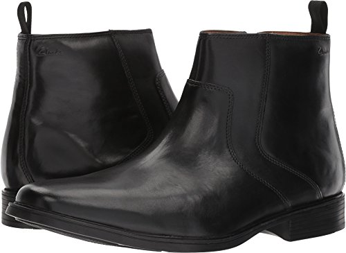 mens dress ankle boots black - 6