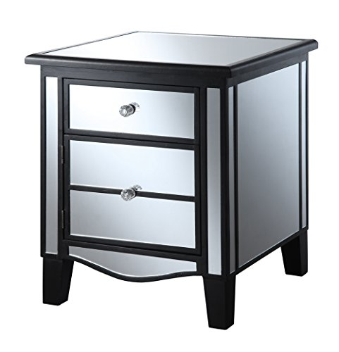 Faux Leather Console Cabinet - 7