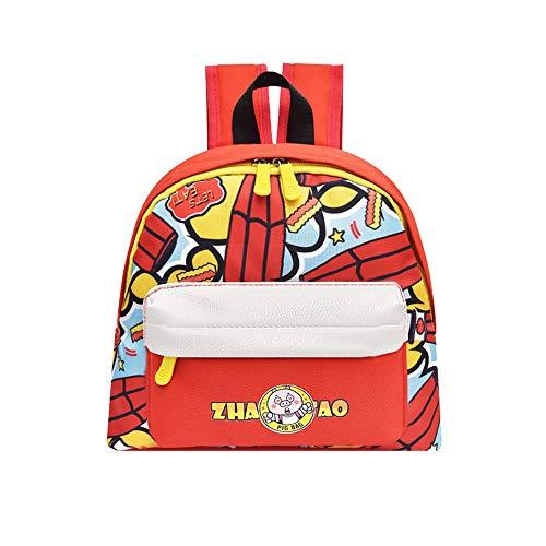 Dsood School Backpacks for Kids,Child Baby Girls Boys Kids Cartoon Animal Print Backpack Toddler School Bag,Backpacks