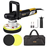 Best Dual Action Polishers - TOPVPRK Polisher, 7.5A 6-inch Variable Speed Dual-Action Random Review