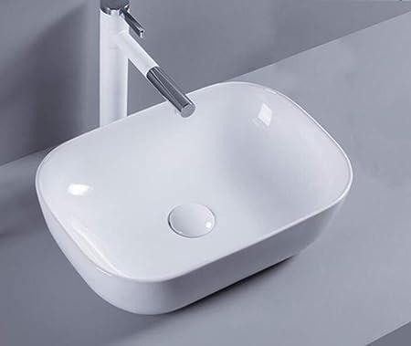 1x Vasque A Poser En Ceramique Lavabo Salle De Bain Lavabo Vasque