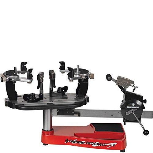 Gamma Progression ST II Tennis Stringing Machine, Red/Silver (Stringing Machine)