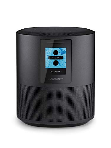 Bose Home Speaker 500 with Alexa voice control built-in, Black (Best Voice Assistant Speaker)