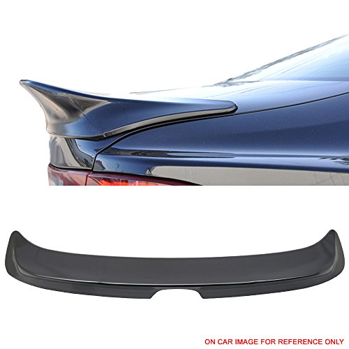 Pre-painted Trunk Spoiler Fits 2014-2016 Lexus IS200t IS350 IS250 | Mercury Gray Mica #1H9 ABS Rear Wing Lid other color available by IKON MOTORSPORTS | ()