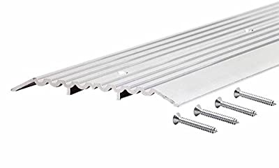 M-D Building Products 11619 1/2-Inch by 6-Inch by 36-Inch Heavy Duty Fluted Top Commercial Threshold