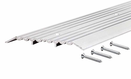 M-D Building Products 11619 1/2-Inch by 6-Inch by 36-Inch Heavy Duty Fluted Top Commercial Threshold by M-D Building Products