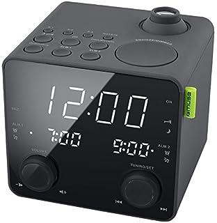 Philips AJ3800 Radio réveil projecteur avec Tuner FM, luminosité ... 59007eb1af1d