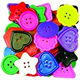 Roylco Really Big Buttons, 120 count