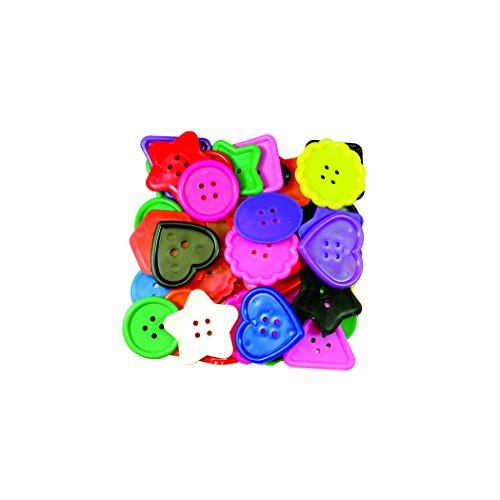 Roylco Really Big Buttons, 120 count ()