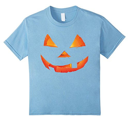 Kids Funny Proud Party Halloween Pumpkin Gifts T-shirts 10 Baby Blue