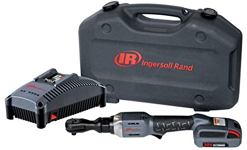 Ingersoll Rand R3130-K12 Cordless Ratchet with 1 Li-on Battery, Charger and Case, 3/8""