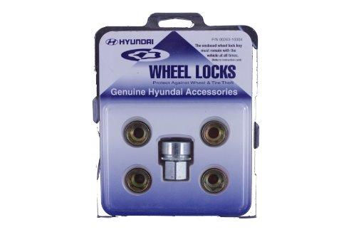 Genuine Hyundai Accessories 00263-10004 Wheel Lock for Hyundai Genesis and Hyundai ()