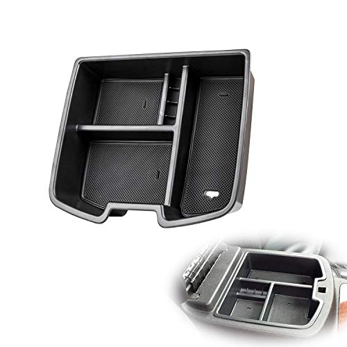 AORRO Center Console Organizer Tray Replacement for 2007-2014 Chevy Silverado GMC Sierra Tahoe Suburban Yukon/XL,GM Vehicles Accessories,Replaces 19166288 (Silverado 08 Console)