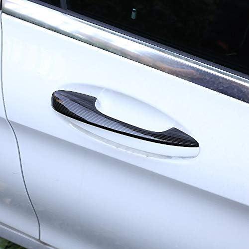 WOVELOT f/ür Mercedes Glc X253 C Klasse W205 2015 Zubeh/ör f/ür Autos T/ürgriff aus ABS-Kunststoff 2018 Handlauf links