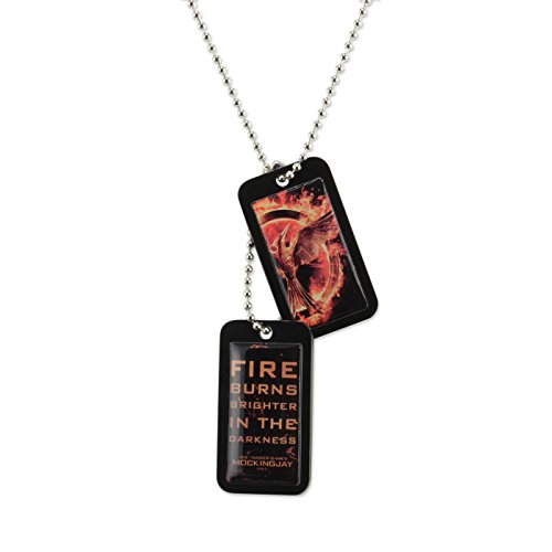 Hunger Games Mockingjay Movie Part 1 - Epoxy Dog Tags