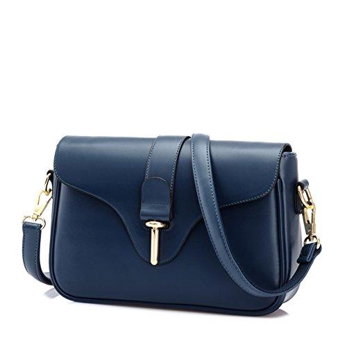 Femmes rétro commuter Pack/puSacs femmes/Incline sac à bandoulière-bleu