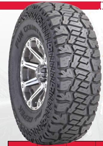 Dick Cepek Fun Country All-Terrain Radial Tire - 33X12.50R15LT 108Q