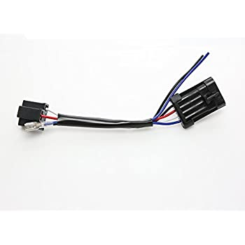 amazon com Wiring Harness Diagram 7 inches led headlight wire harness adapter for 2014 2015 2016 2017 harley davidson touring and