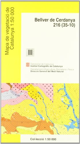 Descargar Libro Mapa De Vegetació De Catalunya 1:50 000 Bellver De Cerdanya 216 Desconocido
