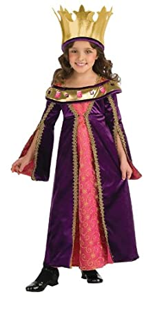 Rubie's Renaissance Faire Bejeweled Princess Costume - Small (2-4)