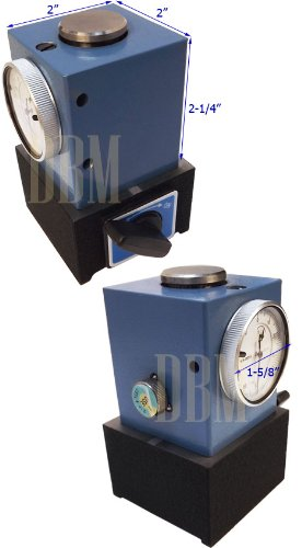 4'' x 2'' Precision Z-AXIS DIAL SETTER SETTING INDICATOR MAGNETIC BASE